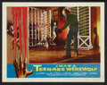"Movie Posters:Horror, I Was a Teenage Werewolf (American International, 1957). Lobby Card(11"" X 14""). Horror.. ..."