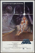 "Movie Posters:Science Fiction, Star Wars (20th Century Fox, 1977). One Sheet (27"" X 41"") Style A.Science Fiction.. ..."