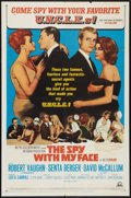 """Movie Posters:Action, The Spy With My Face (MGM, 1966). One Sheet (27"""" X 41""""). Action.. ..."""