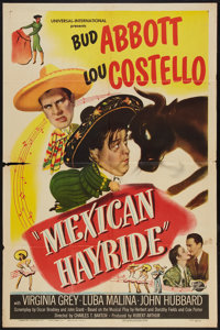 "Mexican Hayride (Universal International, 1948). One Sheet (27"" X 41""). Comedy"