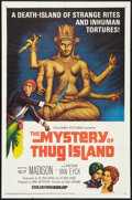 "Movie Posters:Adventure, The Mystery of Thug Island (Columbia, 1966). One Sheet (27"" X 41"").Adventure.. ..."
