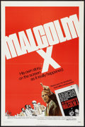 """Movie Posters:Documentary, Malcolm X (Warner Brothers, 1972). One Sheet (27"""" X 41""""). Documentary.. ..."""