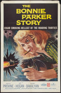 "Movie Posters:Crime, The Bonnie Parker Story (American International, 1958). One Sheet (27"" X 41""). Crime.. ..."