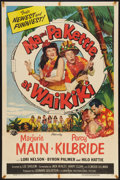 "Movie Posters:Comedy, Ma and Pa Kettle at Waikiki (Universal International, 1955). OneSheet (27"" X 41""). Comedy.. ..."
