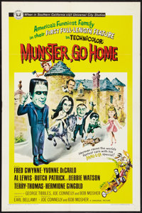 "Munster, Go Home (Universal, 1966). One Sheet (27"" X 41""). Comedy"