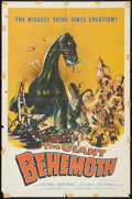"Movie Posters:Science Fiction, The Giant Behemoth (Allied Artists, 1959). One Sheet (27"" X 41"").Science Fiction.. ..."