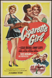 "Cigarette Girl (Columbia, 1947). One Sheet (27"" X 41""). Musical"