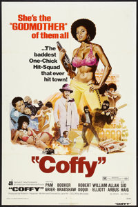 "Coffy (American International, 1973). One Sheet (27"" X 41""). Blaxploitation"