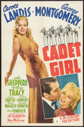 "Movie Posters:Comedy, Cadet Girl (20th Century Fox, 1941). One Sheet (27"" X 41"").Comedy.. ..."