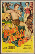 "Movie Posters:Adventure, Bomba and the Jungle Girl (Monogram, 1952). One Sheet (27"" X 41"").Adventure.. ..."