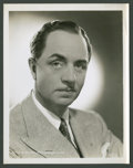 """Movie Posters:Miscellaneous, William Powell (MGM, 1930s). Portrait Still (8"""" X 10""""). Miscellaneous.. ..."""