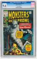 Bronze Age (1970-1979):Horror, Monsters on the Prowl #12 (Marvel, 1971) CGC NM+ 9.6 Off-white towhite pages....