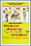 """Movie Posters:Comedy, After the Fox (United Artists, 1966). One Sheet (27"""" X 41"""") and Lobby Card Set of 8 (11"""" X 14""""). Comedy.. ... (Total: 9 Items)"""