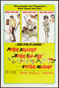"""After the Fox (United Artists, 1966). One Sheet (27"""" X 41"""") and Lobby Card Set of 8 (11"""" X 14""""). Com..."""