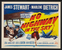 "No Highway in the Sky (20th Century Fox, 1951). Lobby Card Set of 8 (11"" X 14""). Drama. ... (Total: 8 Items)"