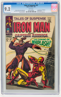 Tales of Suspense #97 (Marvel, 1968) CGC NM- 9.2 White pages