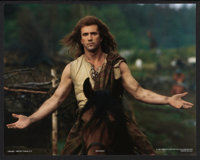 """Braveheart (Paramount, 1995). Deluxe Lobby Card Set of 9 (11"""" X 14""""). Action. ... (Total: 9 Items)"""