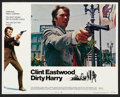 "Movie Posters:Crime, Dirty Harry (Warner Brothers, 1971). Lobby Card Set of 8 (11"" X14""). Crime.. ... (Total: 8 Items)"