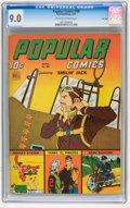 Golden Age (1938-1955):Adventure, Popular Comics #98 File Copy (Dell, 1944) CGC VF/NM 9.0 Off-white to white pages....
