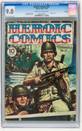 Golden Age (1938-1955):War, Heroic Comics #21 File Copy (Eastern Color, 1943) CGC VF/NM 9.0 Cream to off-white pages....