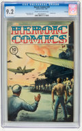Golden Age (1938-1955):War, Heroic Comics #29 File Copy (Eastern Color, 1945) CGC NM- 9.2 Cream to off-white pages....