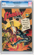 Golden Age (1938-1955):Crime, Shadow Comics V2#11 (Street & Smith, 1943) CGC FN+ 6.5 Cream to off-white pages....