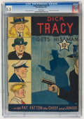 Golden Age (1938-1955):Crime, Large Feature Comic (Series I) #4 Dick Tracy (Dell, 1939) CGC FN- 5.5 White pages....