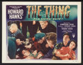 "Movie Posters:Science Fiction, The Thing From Another World (RKO, 1951). Lobby Cards (2) (11"" X14""). Science Fiction.. ... (Total: 2 Items)"