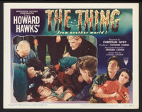 "The Thing From Another World (RKO, 1951). Lobby Cards (2) (11"" X 14""). Science Fiction. ... (Total: 2 Items)"