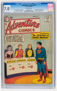 Adventure Comics #247 (DC, 1958) CGC FN/VF 7.0 Off-white pages