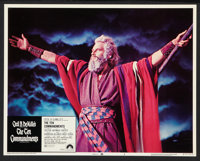 """The Ten Commandments (Paramount, R-1972). Lobby Card Set of 8 (11"""" X 14""""). Historical Drama. ... (Total: 8 Ite..."""