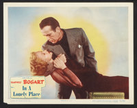 "In a Lonely Place (Columbia, 1950). Lobby Cards (2) (11"" X 14""). Film Noir. ... (Total: 2 Items)"