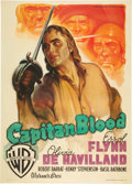 "Movie Posters:Adventure, Captain Blood (Warner Brothers, R-1948). Italian 2 - Folio (39"" X 55"").. ..."