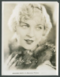"""Movie Posters:Miscellaneous, Marjorie White by Max Munn Autrey (Fox, 1930s). Stills (2) (8"""" X 10""""). Miscellaneous.. ... (Total: 2 Items)"""