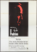 "Movie Posters:Crime, The Godfather (Paramount, 1972). Italian 4 - Foglio (55"" X 78"").Crime.. ..."