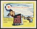 """Movie Posters:Film Noir, The Night of the Hunter (United Artists, 1955). Title Lobby Cardand Lobby Cards (3) (11"""" X 14""""). Film Noir.. ... (Total: 4 Items)"""