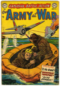 Golden Age (1938-1955):War, Our Army at War #7 (DC, 1953) Condition: Average FN-....