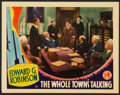 """Movie Posters:Comedy, The Whole Town's Talking (Columbia, 1935). Lobby Card (11"""" X 14""""). Comedy.. ..."""