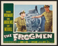 "Movie Posters:War, The Frogmen (20th Century Fox, 1951). Lobby Cards (4) (11"" X 14"").War.. ... (Total: 4 Items)"