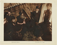 "The Cabinet of Dr. Caligari (Goldwyn, 1920). Lobby Card (11"" X 14"")"