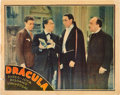 "Movie Posters:Horror, Dracula (Universal- Spanish Adaptation, 1931). Lobby Card (11"" X 14"").. ..."