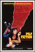 """Movie Posters:Crime, Pulp Fiction (Miramax, 1994). One Sheet (27"""" X 41"""") SS Advance. Crime.. ..."""