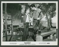 "Elvis Presley and Barbara Stanwyck in ""Roustabout"" (Paramount, 1964). Stills (4) (8"" X 10""). Elvis P..."