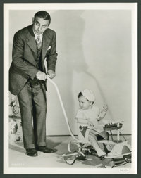 "Eddie Cantor in ""Forty Little Mothers"" (MGM, 1940). Stills (8) (8"" X 10""). Comedy. ... (Total: 8 Ite..."