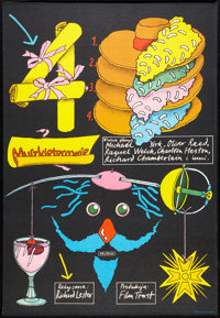 """The Four Musketeers (20th Century Fox, 1976). Polish One Sheet (22.5"""" X 32""""). Adventure"""