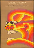 """Movie Posters:Adventure, The Southern Star (Columbia, 1970). Polish One Sheet (22.75""""32.5""""). Adventure.. ..."""