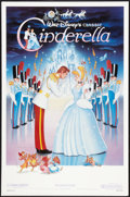 "Movie Posters:Animated, Cinderella (Buena Vista, R-1987). One Sheet (27"" X 41""). Animated.. ..."