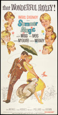 "Movie Posters:Comedy, Summer Magic (Buena Vista, 1963). Three Sheet (41"" X 81""). Comedy.. ..."
