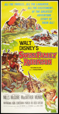"Movie Posters:Adventure, Swiss Family Robinson (Buena Vista, 1960). Three Sheet (41"" X 81"").Adventure.. ..."