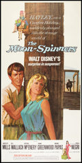 "Movie Posters:Mystery, The Moon-Spinners (Buena Vista, 1964). Three Sheet (41"" X 81"").Mystery.. ..."